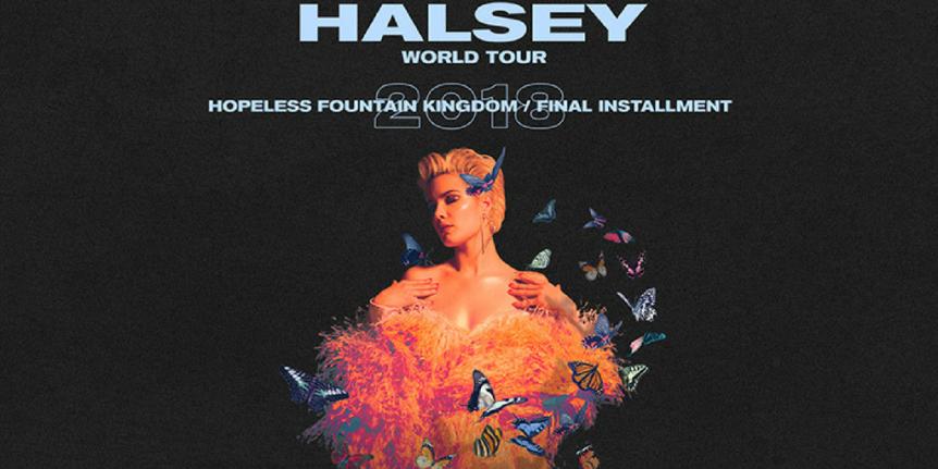 Halsey traz seu 'hopeless fountain kingdom' aoBrasil
