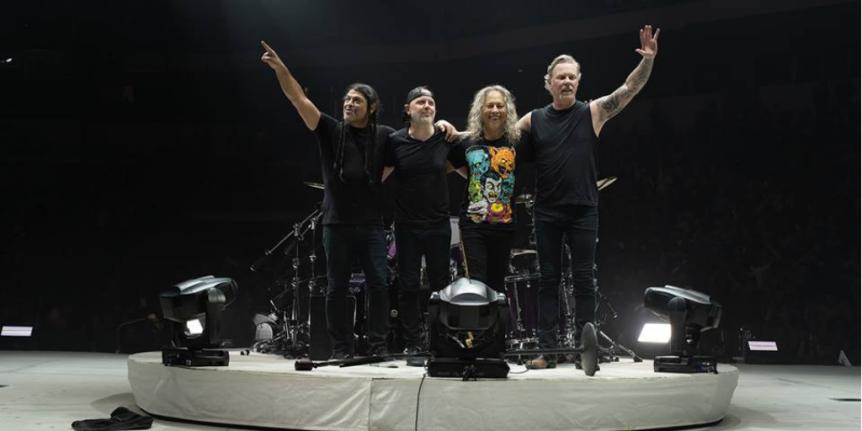 Metallica adia shows no Brasil paradezembro